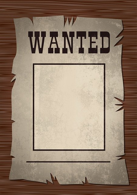 Learn to create a wanted poster for a school project